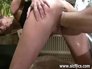 Extremely deep monster pussy fisting orgasms