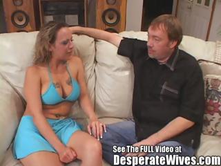 Slut Wife Donna Eating Two Hot Cum Loads Like A Good Submissive Bitch