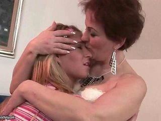 Young girl loves hairy old pussy